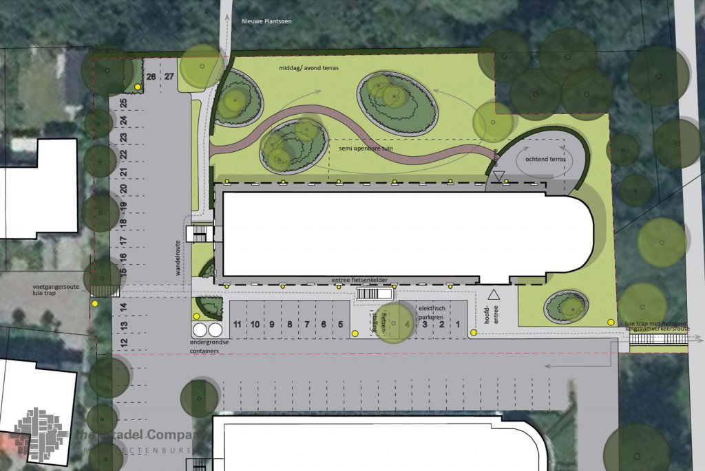 Landschap en Stedenbouw_Transformatie kantoorterrein Deventer