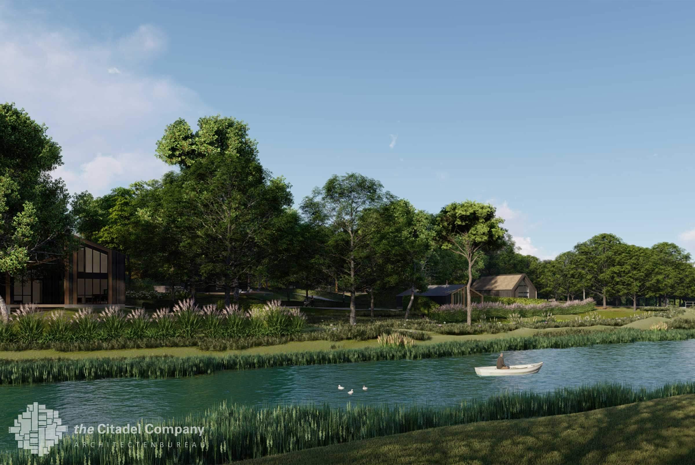 Beeldkwaliteit Park't Holt Dalfsen_Wateraanzicht