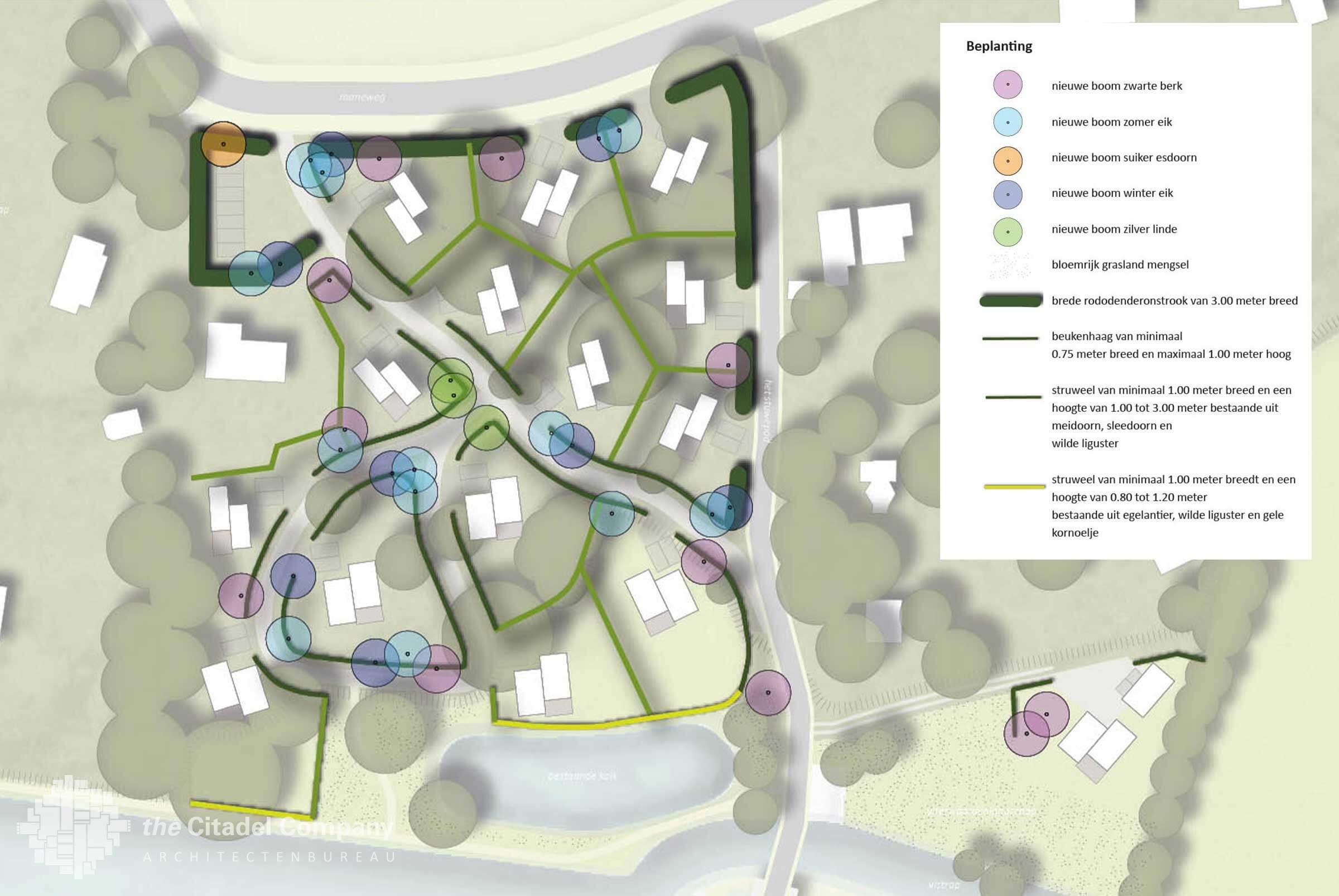 Beeldkwaliteit Park't Holt Dalfsen_Beplantingsplan