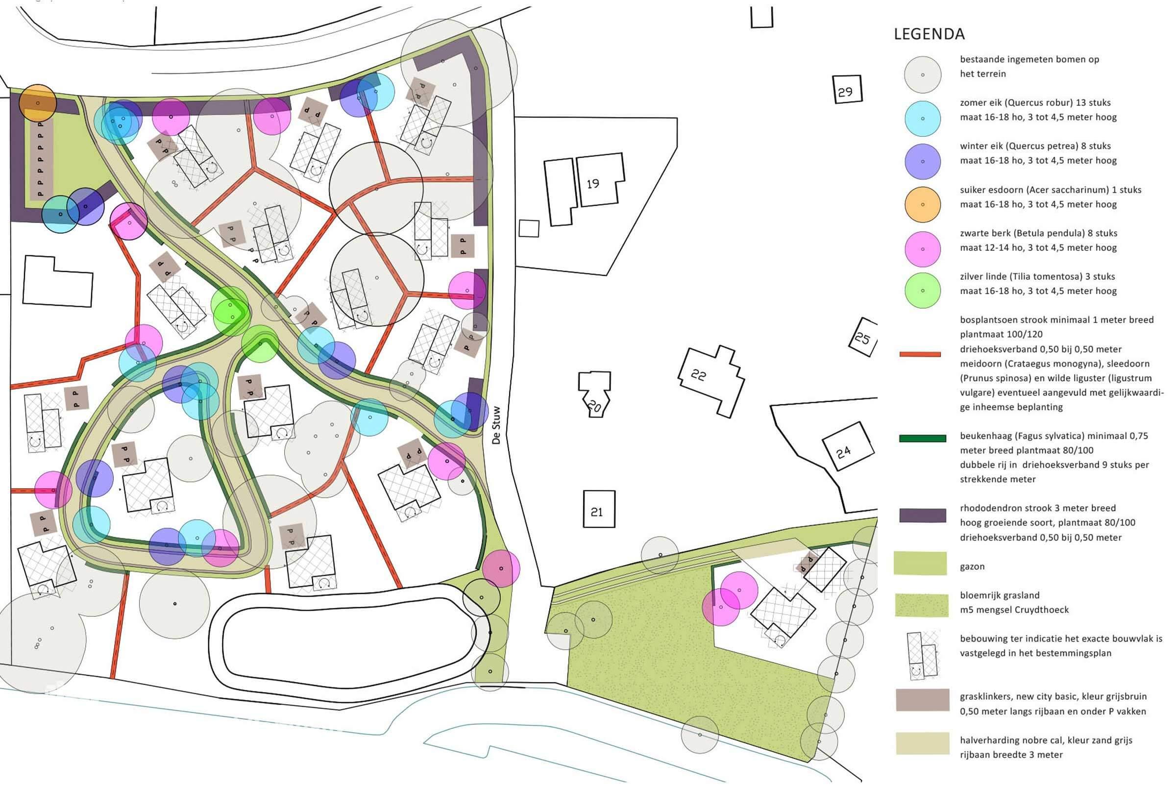 Beeldkwaliteit Park't Holt Dalfsen_Inrichtingsplan