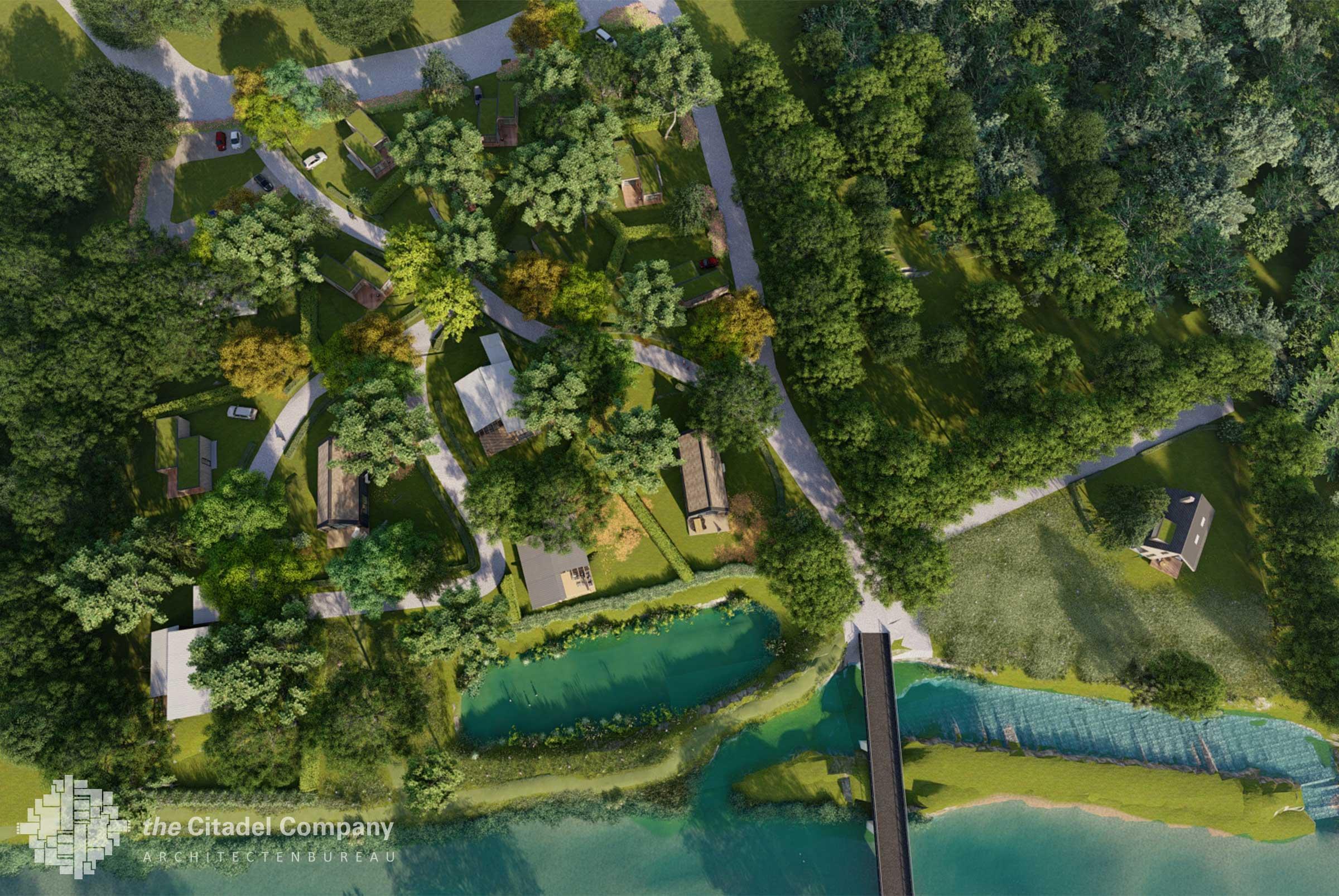 Beeldkwaliteit Park't Holt Dalfsen_bovenaanzicht