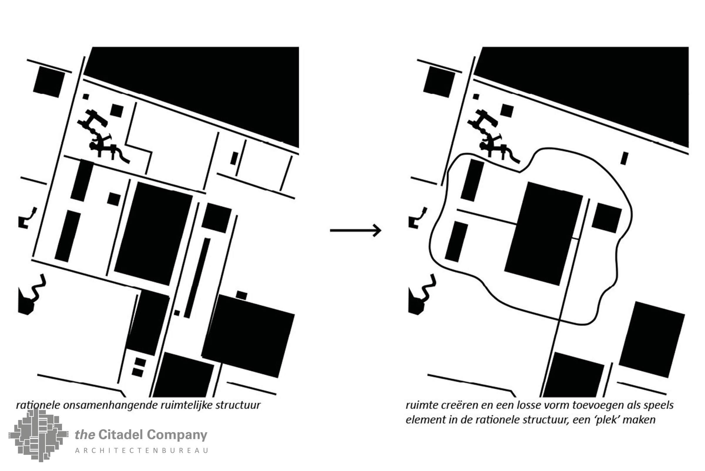 Terreininrichtingsplan de Flierefluiter, Raalte_nieuwe ruimtelijke structuur
