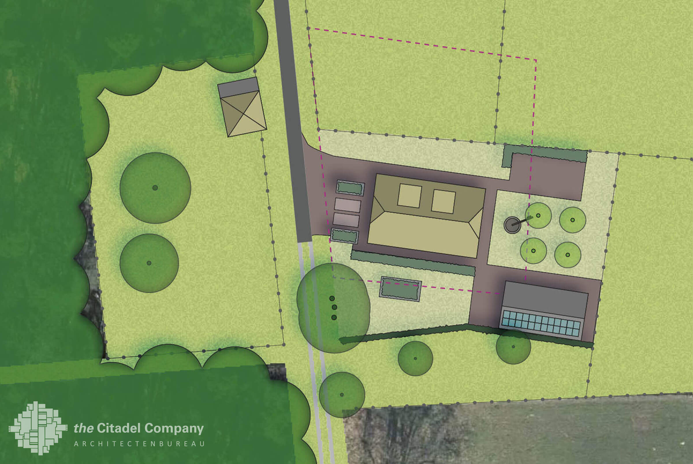 Landschappelijk inrichtingsplan Ommen_Ontwerp