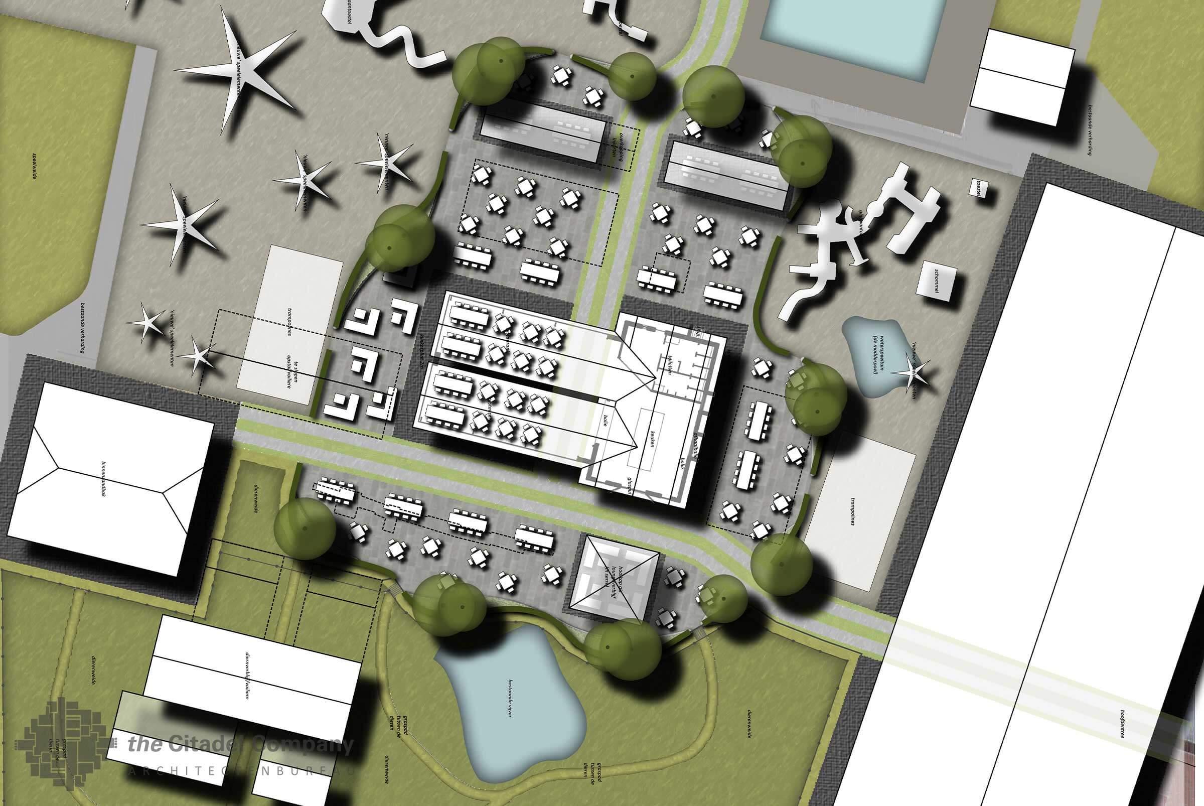 Terreininrichtingsplan de Flierefluiter, Raalte_Centrum