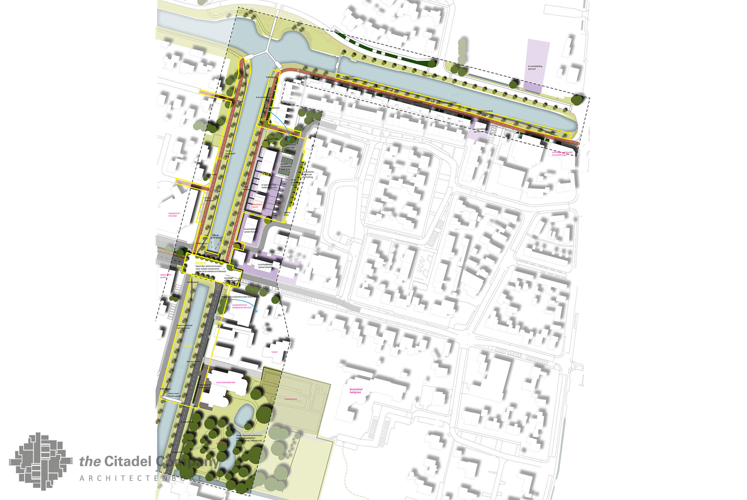 Visie Kanaalfront en kanaalpark Lemelerveld_ontwerp