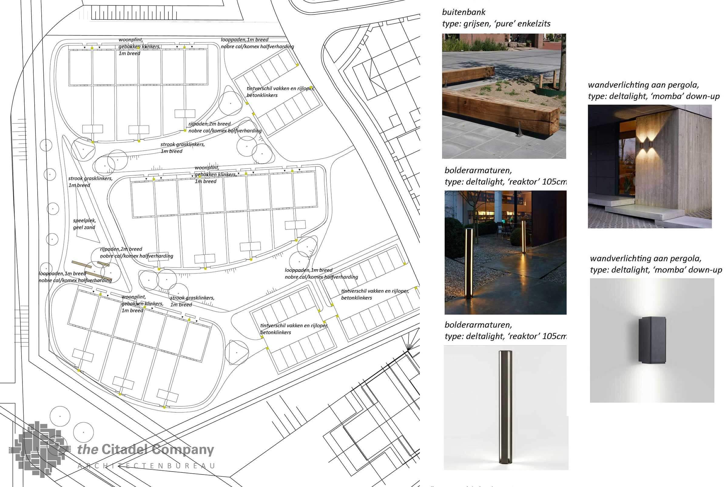 Stedenbouwkundig plan Vrij Werkeren Zwolle_Element en Verlichtingsplan