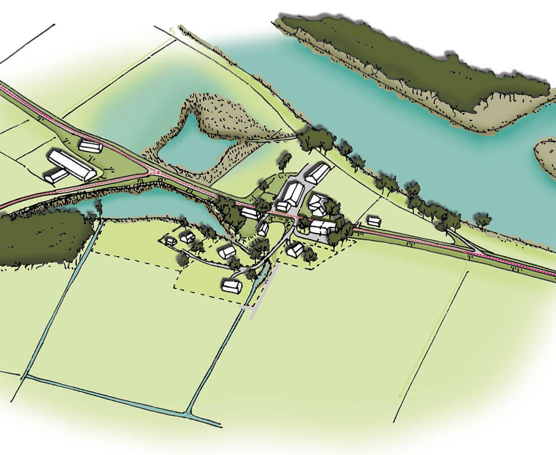 Landschappelijk inrichtingsplan Zwolle