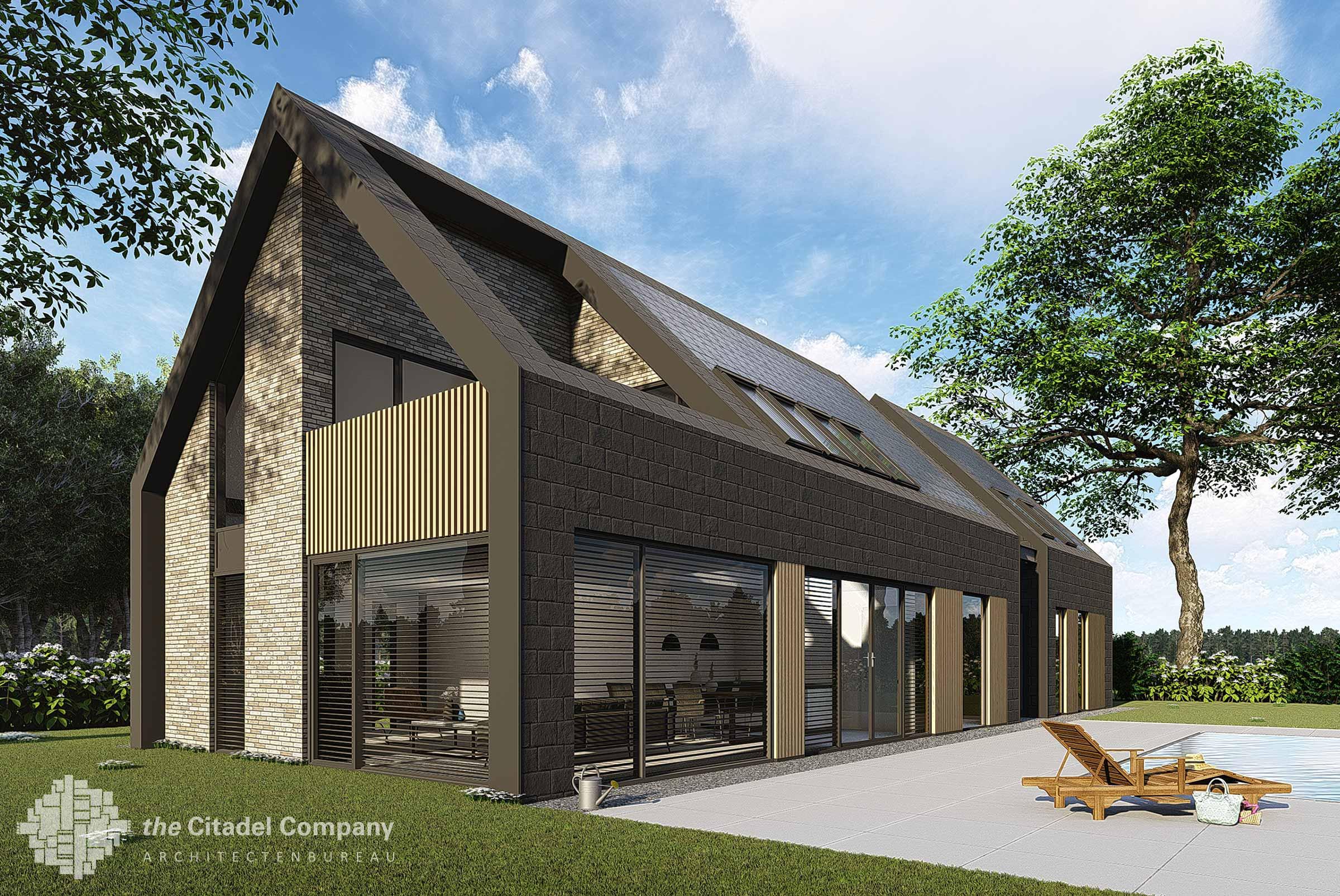 Moderne schuurwoning Landgoed Sancta Maria Noordwijk