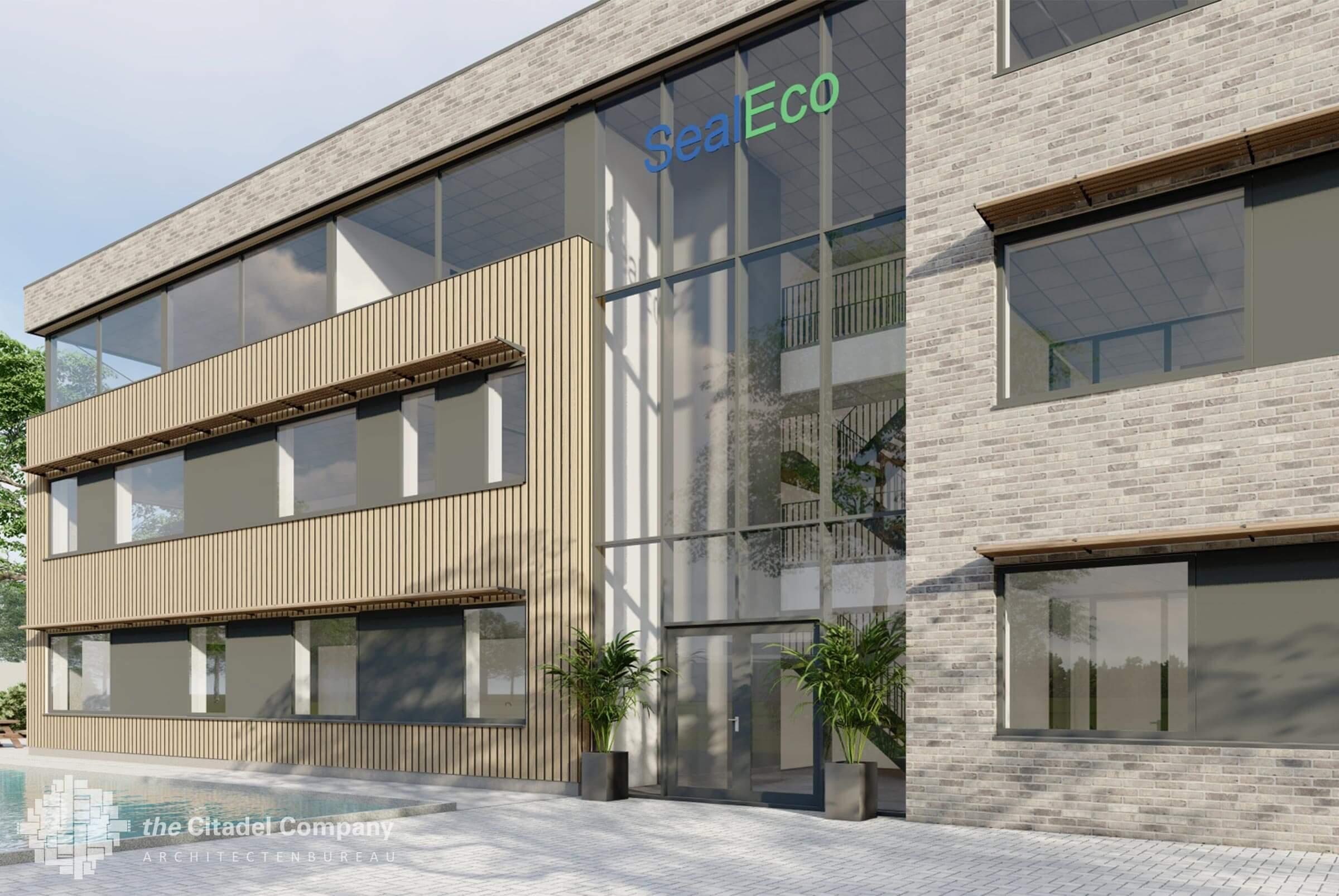Nieuw bedrijfspand SealEco