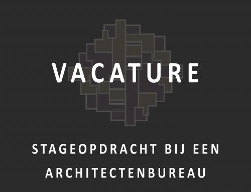 Stageopdracht bij een architectenbureau