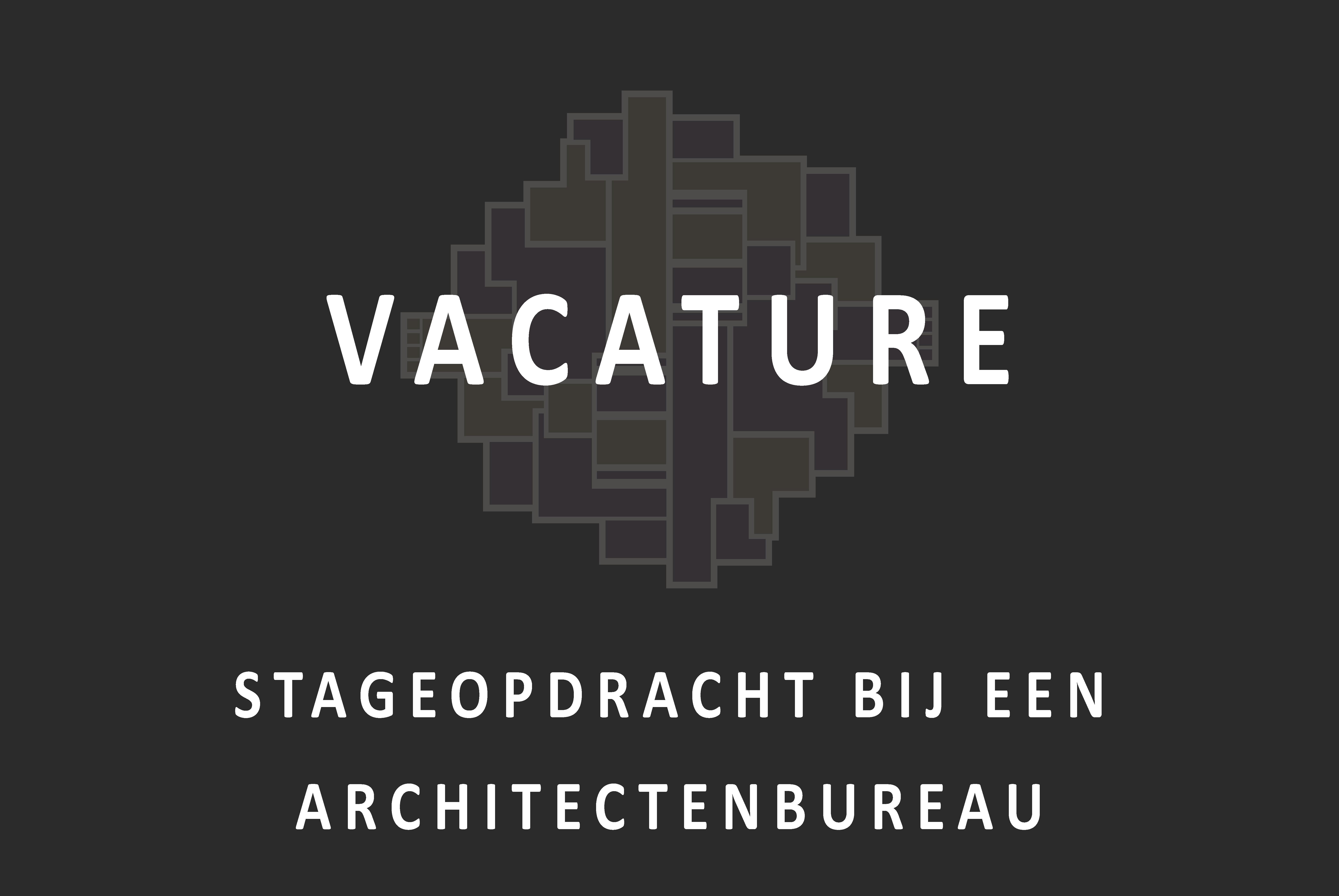 Vacature_Stageopdracht bij een architectenbureau