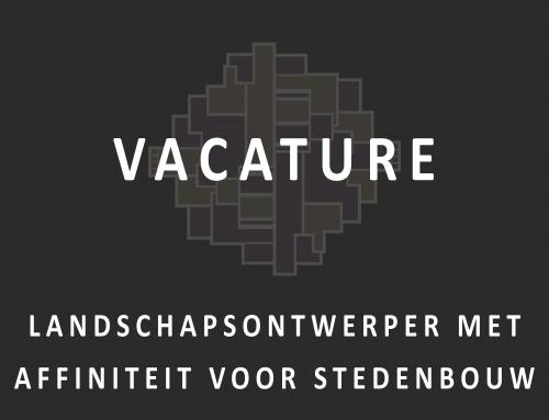 Vacature | Landschapsontwerper met affiniteit voor stedenbouw