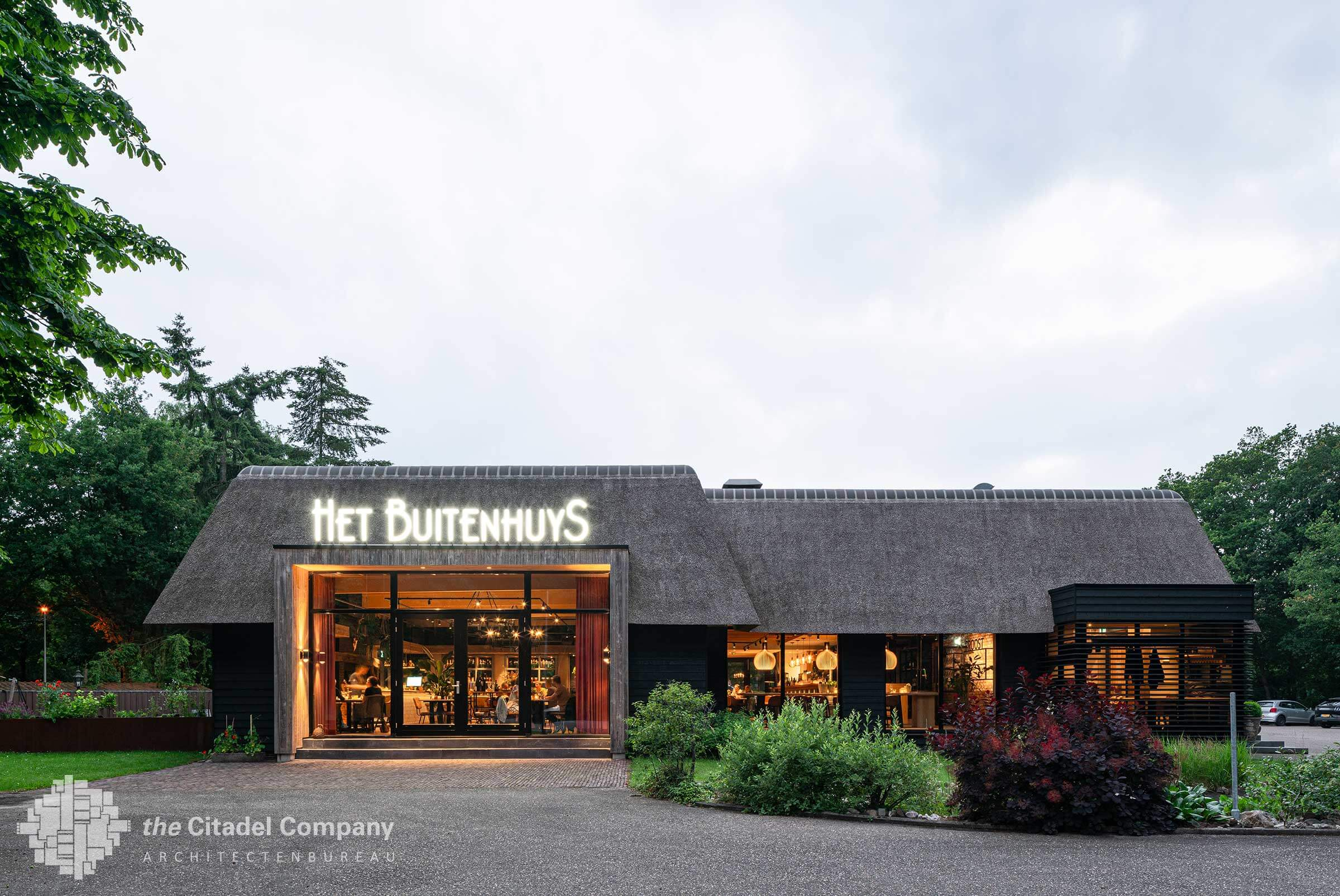 Gevelrenovatie restaurant het Buitenhuys